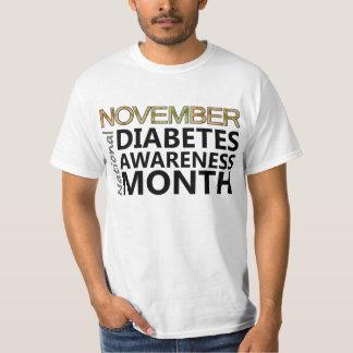 Support November National Diabetes Awareness Month T-Shirt