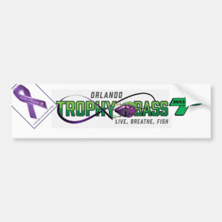 Support Organ Donation and Cystic Fibrosis Bumper Sticker