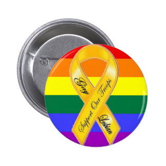 Support Our Gay and Lesbian Troops! 2 Inch Round Button