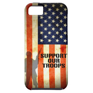 Support our Troop American Flag iPhone 5 Case