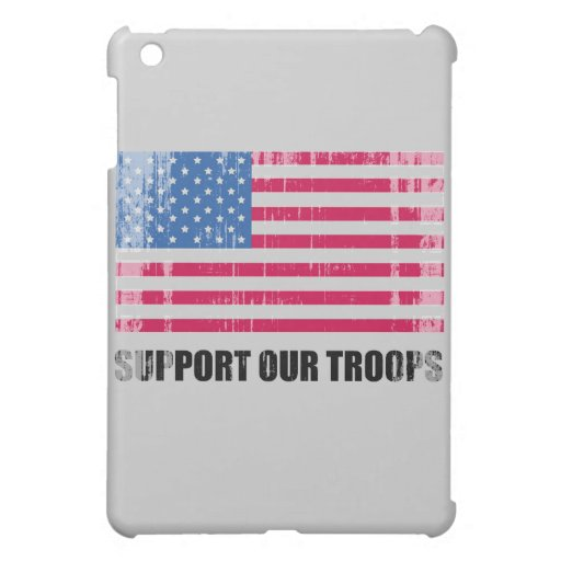 Support our troops (2) Faded.png iPad Mini Cases