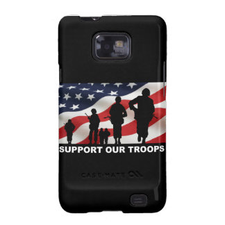 Support our troops army armed forces usa galaxy s2 cover