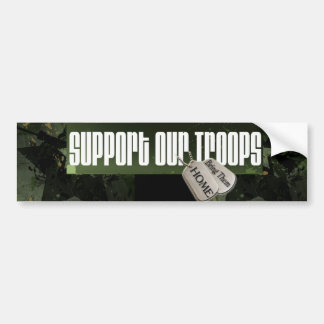 Support our Troops Bumper S Bumper Sticker
