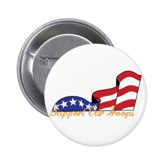Support Our Troops 2 Inch Round Button