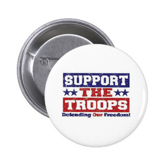 Support our Troops Pinback Button