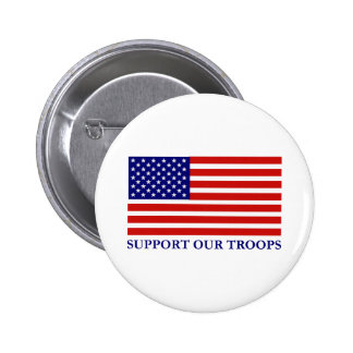 Support Our Troops Button