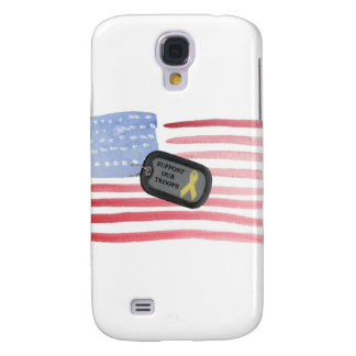 Support Our Troops Samsung Galaxy S4 Case