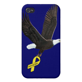 Support Our Troops Cover For iPhone 4