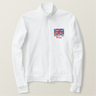 Support Our Troops Embroidered Jacket