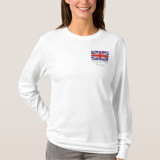 Support Our Troops Embroidered Long Sleeve T-Shirt