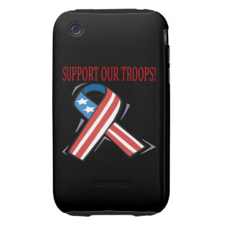 Support Our Troops iPhone 3 Tough Cases