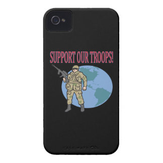 Support Our Troops iPhone 4 Case-Mate Case