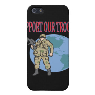 Support Our Troops iPhone 5 Cover