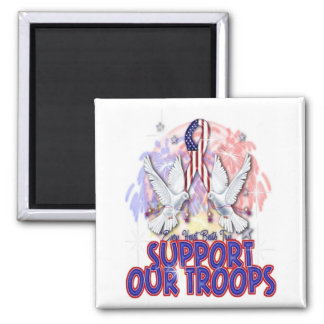 """Support Our Troops"" Magnet"