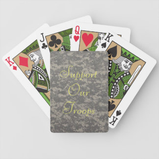 Support our troops poker deck