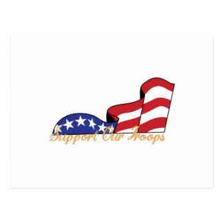 Support Our Troops Postcard