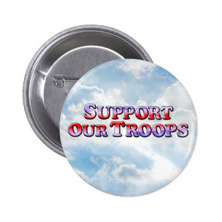 Support Our Troops - Round Button