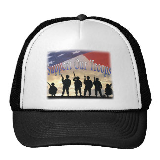 Support Our Troops Soldiers Trucker Hat
