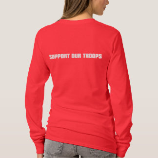 Support Our Troops - White T-Shirt