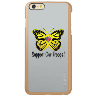 Support Our Troops with Butterfly