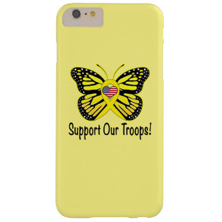 Support Our Troops with Butterfly Barely There iPhone 6 Plus Case