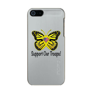 Support Our Troops with Butterfly Incipio Feather® Shine iPhone 5 Case