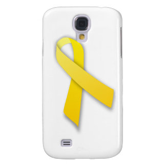Support Our Troops Yellow Awareness Ribbon Samsung Galaxy S4 Covers
