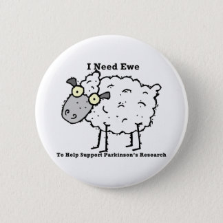 Support Parkinson's Research 2 Inch Round Button