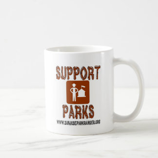support parks san jose rangers coffee mug