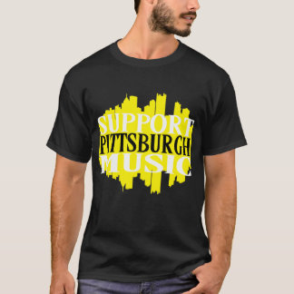 Support Pittsburgh Music T-Shirt