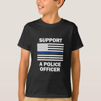 Support Police Officers Tee Shirt