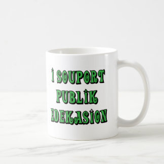 Support Public Education T-shirts Gifts Coffee Mugs