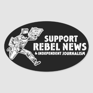 Support Rebel News Stickers