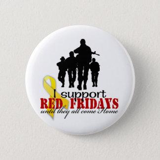 Support red Fridays 2 Inch Round Button