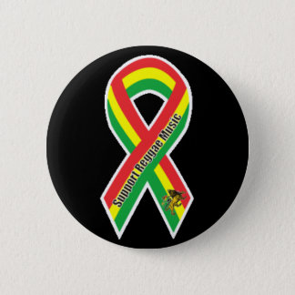 Support Reggae Music 2 Inch Round Button