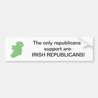 Support Republicans Bumper Sticker