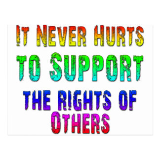Support Rights of Others Postcard