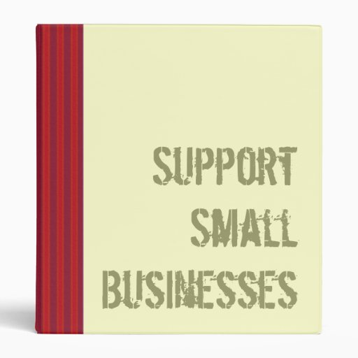 Support Small Businesses Binder