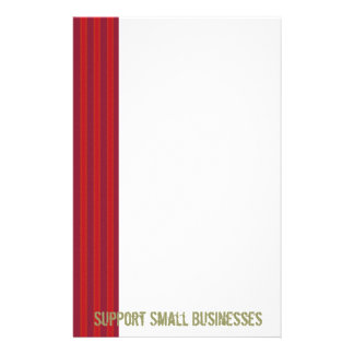 Support Small Businesses Stationary Stationery Design