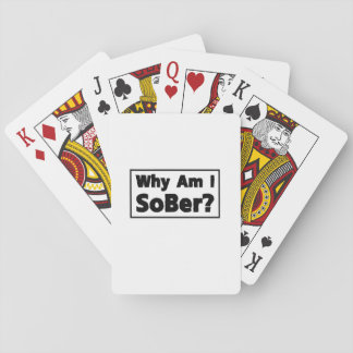 Support Sobriety Cause Gif Am I Sober Playing Cards