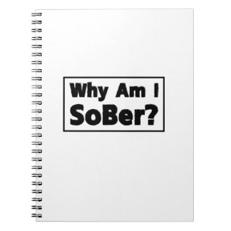 Support Sobriety Cause Gif Am I Sober Spiral Notebook