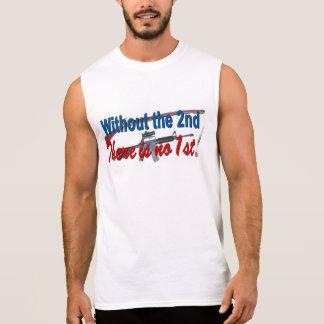 Support the 2nd Amendment Sleeveless Shirt