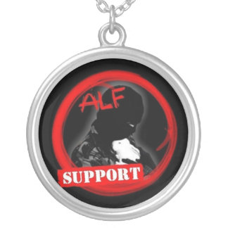 Support the ALF Silver Plated Necklace