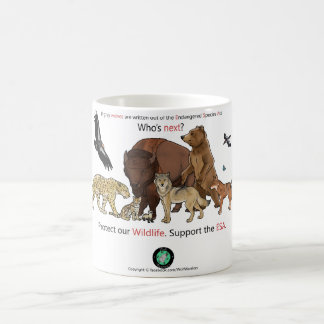 Support The Endangered Species Act Coffee Mug