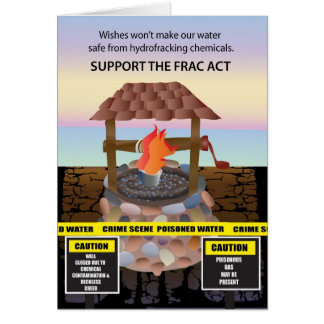 Support the Frac Act Card