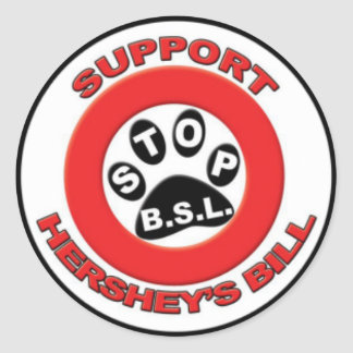 Support The Hershey Bill Classic Round Sticker