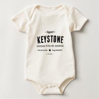 Support The Keystone Pipeline Baby Bodysuit