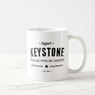 Support The Keystone Pipeline Coffee Mug