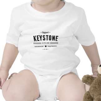 Support The Keystone Pipeline Romper