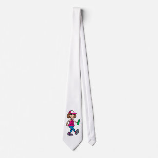 Support the Old Lady Walking Tie